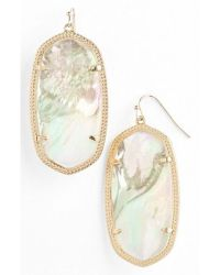Kendra scott 'danielle - Large' Oval Statement Earrings in ...