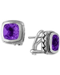 Effy collection Balissima By Effy Amethyst Earrings (4-1 ...