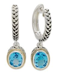 Effy collection Balissima By Effy Blue Topaz Oval ...