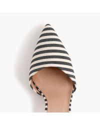 J.crew Elsie Bow-tie Court Shoes in Blue   Lyst