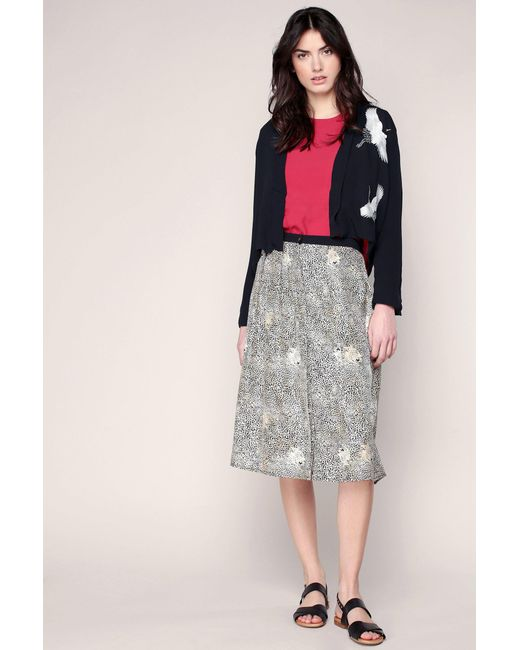 Valentine Gauthier Mid Length Skirt In Black Lyst