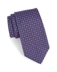 Gitman brothers vintage Geometric Silk Tie in Purple for ...