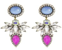 Loren hope Tessie Earrings Bloom in Blue
