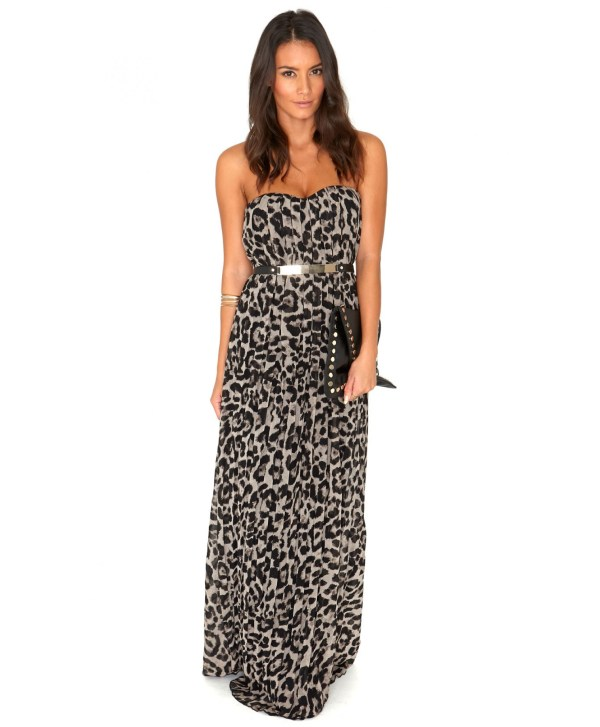 cf0aa3e6ba0cd 20+ Leopard Maxi Dress Pictures and Ideas on STEM Education Caucus