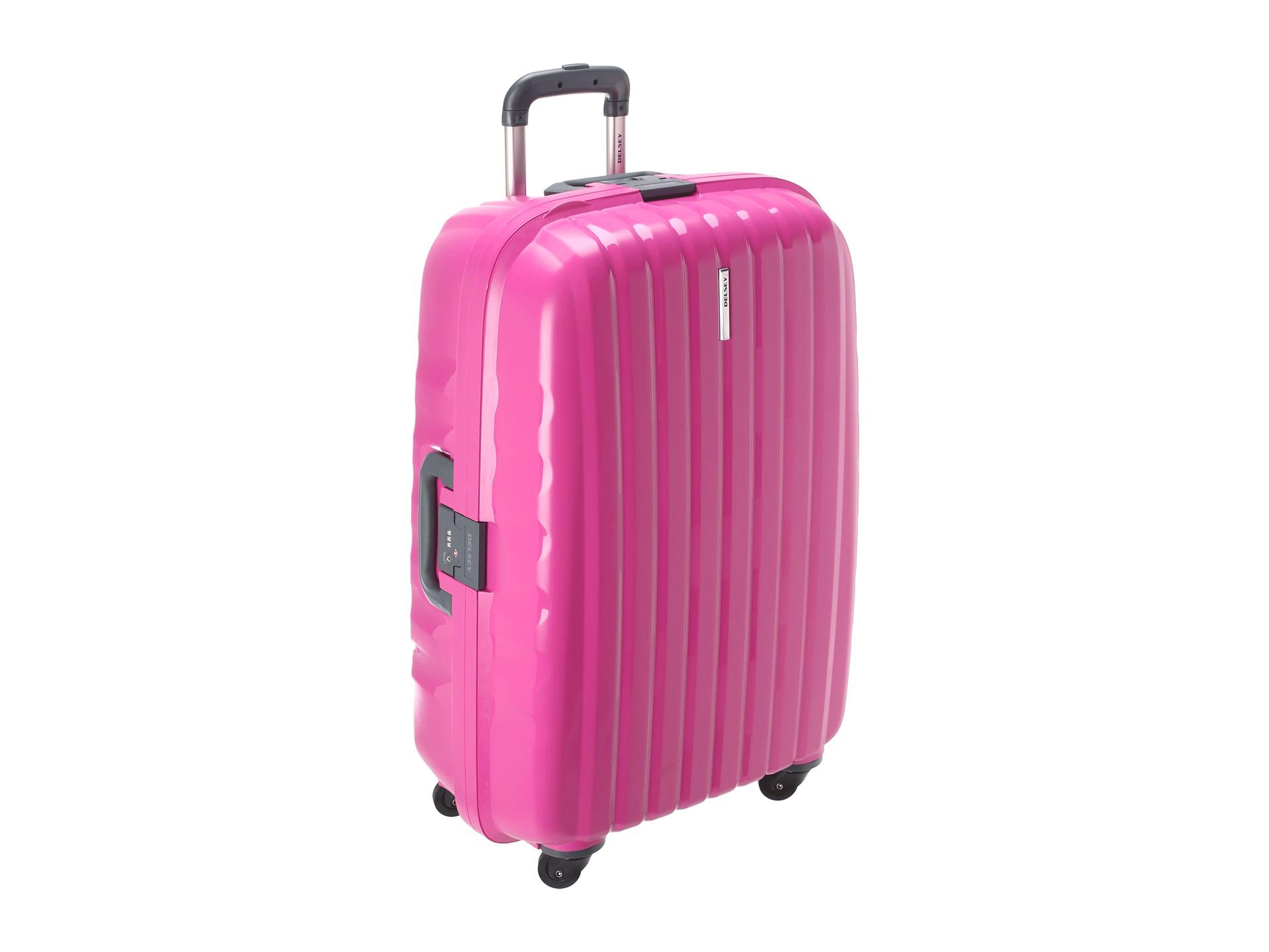 Pink Delsey Luggage Mc Luggage