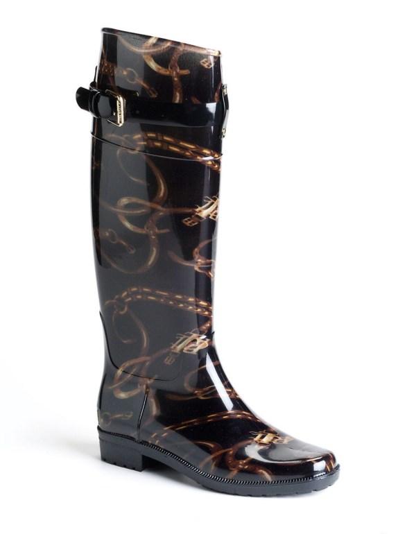 Lauren Ralph Rossalyn Rain Boots In Black Lyst