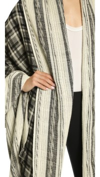 Lyst - Prabal Gurung Cashmere Shawl - Black/White in Black