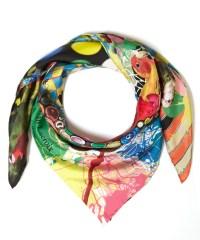 Christian lacroix Assorted Love Bird Silk Scarf | Lyst