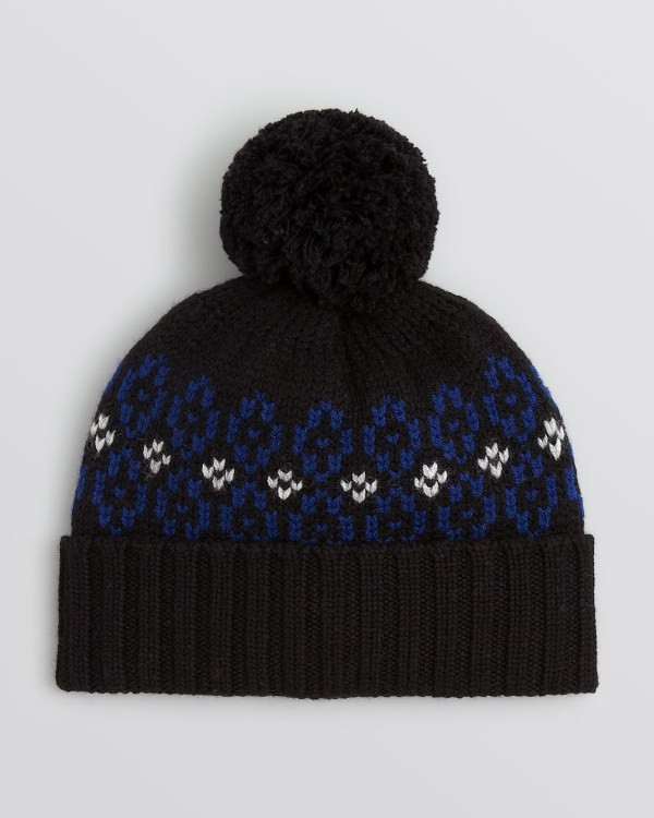 Bloomingdale' Ski Pom Hat In Black Men - Lyst