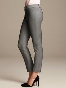 5d4610f8b Banana Republic Pencil Skirt · Banana Republic Sloan Slim Ankle Pants White