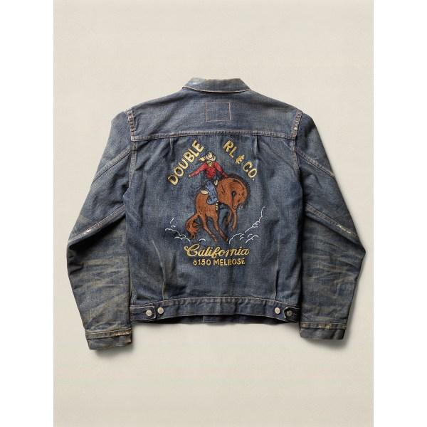 Lyst - Rrl Limited-edition Denim Jacket In Blue Men