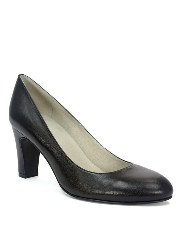 Tahari Polly Leather Pumps In Black Lyst