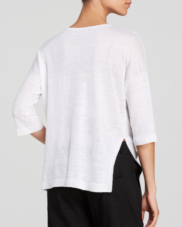 Theory Sweater - Beylor Sag Harbor In White Lyst
