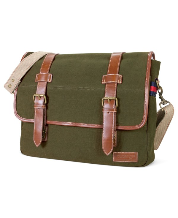 Lyst - Tommy Hilfiger East West Flapover Messenger Bag In