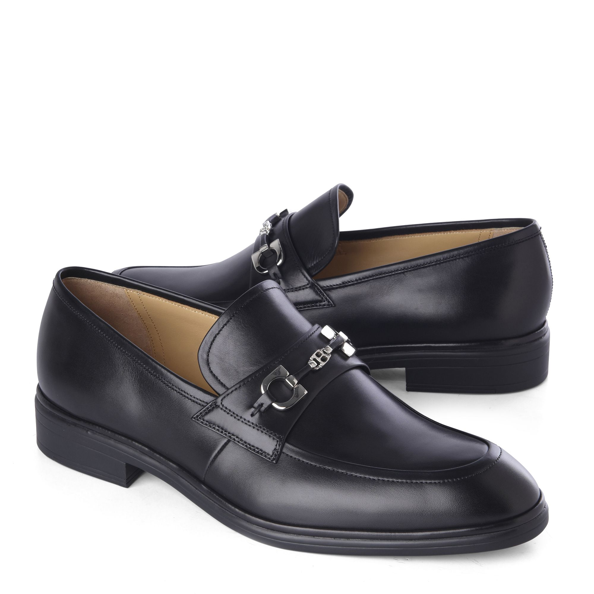 Bally Leather Loafers In Black For Men