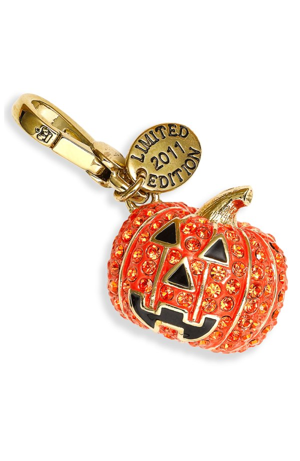 Juicy Couture Pumpkin Charm Limited Edition In Orange