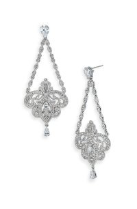 Chandelier Earrings Nordstrom On The Wishlist Gold And Jet ...