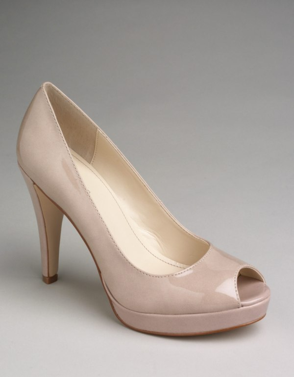 Calvin Klein Peep Toe Pumps