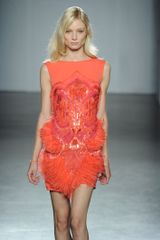 Matthew Williamson Spring 2012 Sequin and Fringe Mini Dress