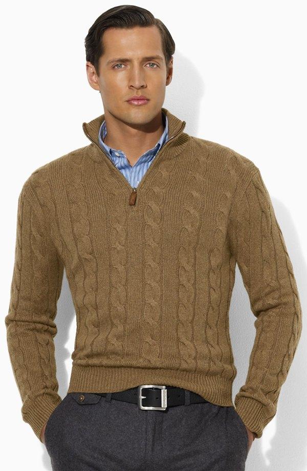 Polo Ralph Lauren Sweater In Brown Men Lyst
