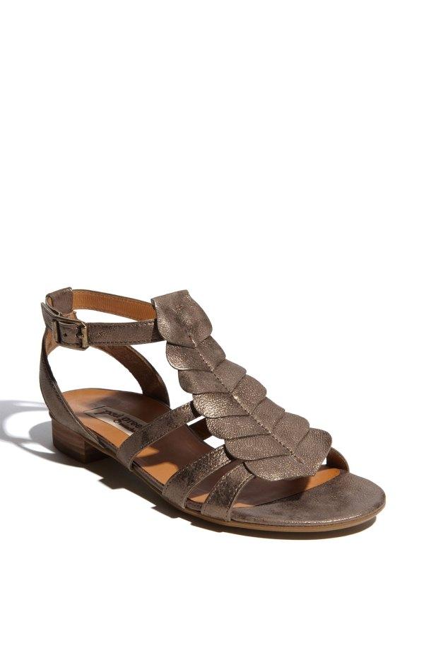 Paul Green Lola Sandal In Brown Bronze Lyst