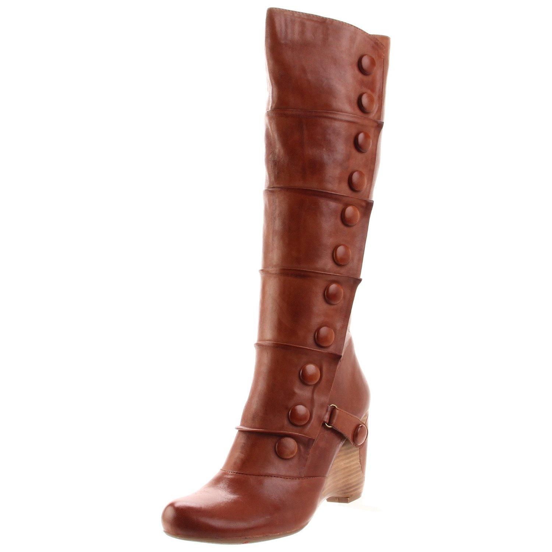 Miz Mooz Womens Siri Knee High Boot In Brown Whiskey