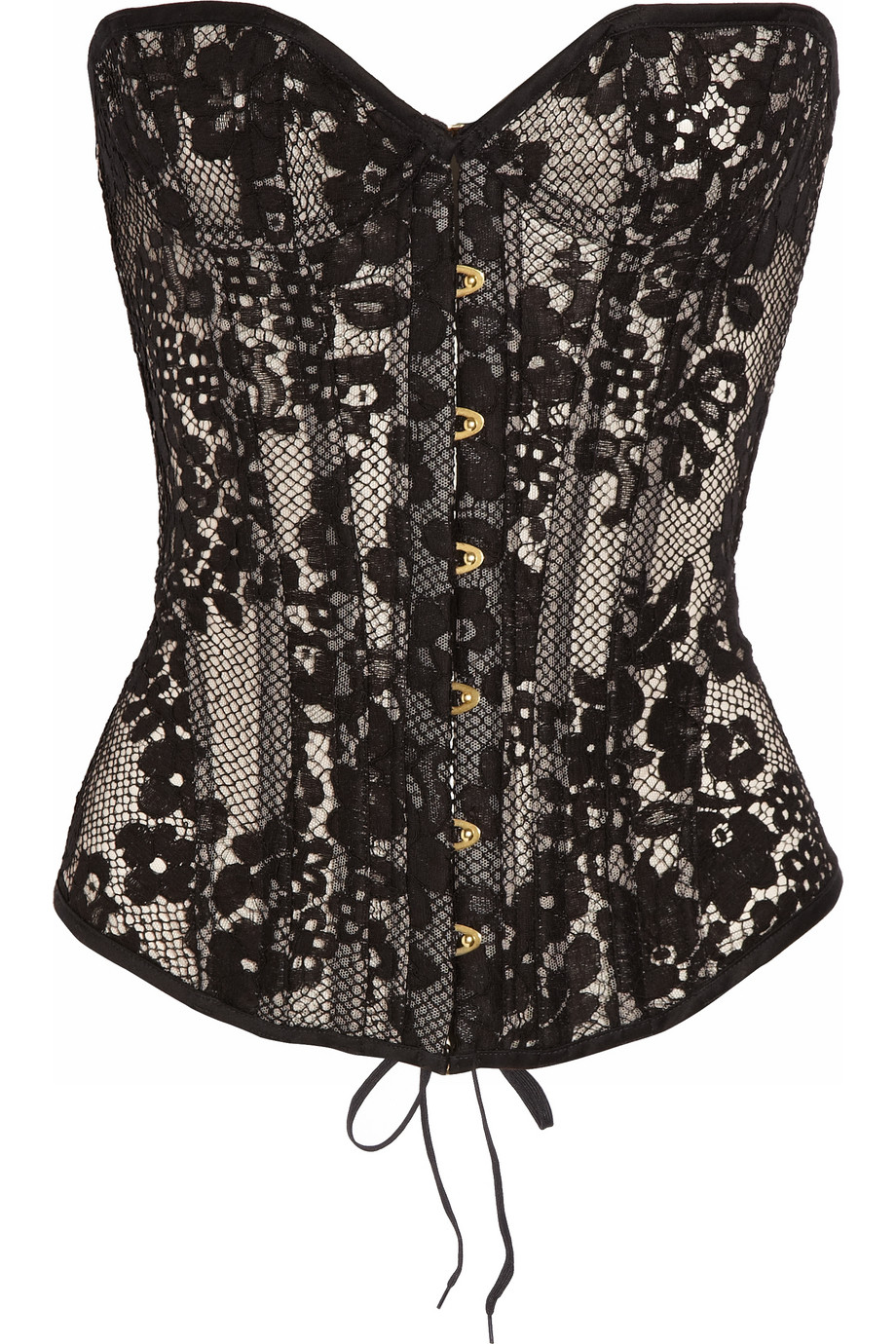 Agent Provocateur Janey Underwired Lace Corset in Black  Lyst