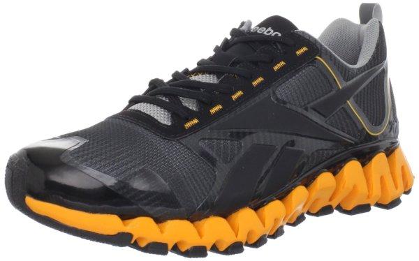 Reebok Mens Zigreetrek Tr Running Shoe In Gray Men Gravel Grey Orange Black Silver Lyst