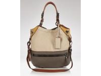 Oryany Sydney Colorblock Shoulder Bag Large in Beige (sand ...