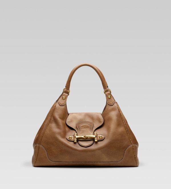 Gucci Pelham Large Shoulder Bag With Horsebit Detail
