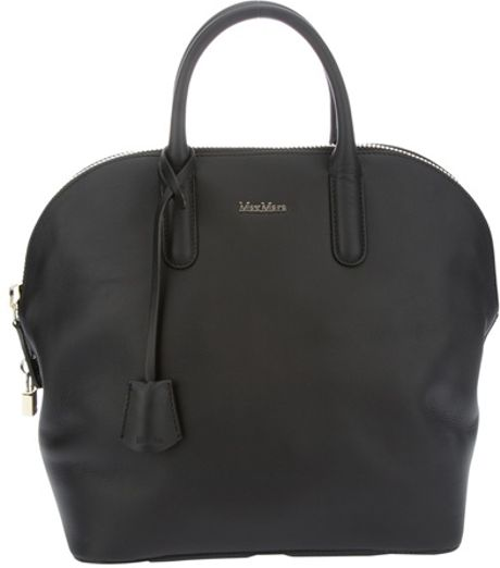 Max Mara Laziale Tote Bag in Black