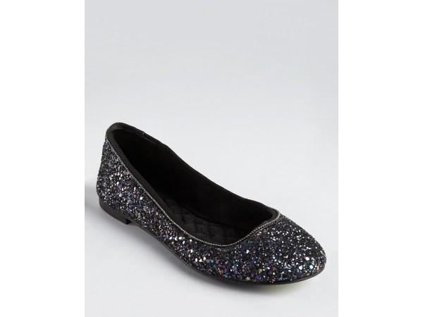 Boutique 9 Flats Aldenia3 Glitter In Black Lyst