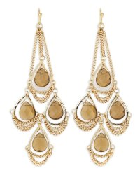 Kendra Scott Trista Chandelier Earrings in Gold (null) | Lyst