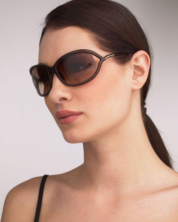 Tom Ford Jennifer Sunglasses Light Brown In
