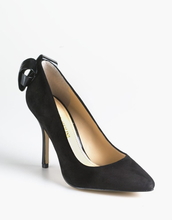 Enzo Angiolini Padilla Suede Pumps In Black