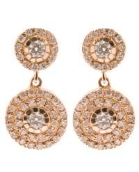 Lyst - Ileana Makri Double 'solitaire' Diamond Earrings in ...