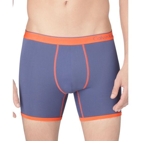 Lyst - Calvin Klein Micro Boxer In Orange Men