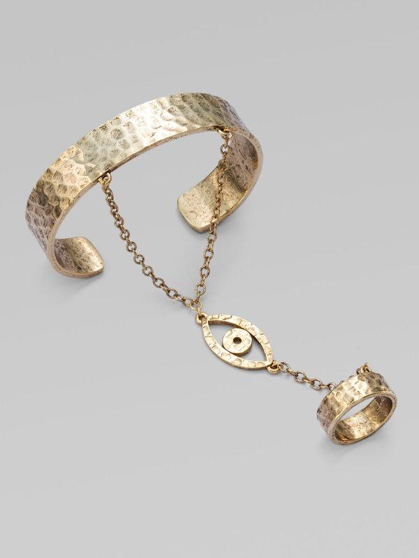 Lyst - Luv Erin Wasson Evil Eye Bracelet With