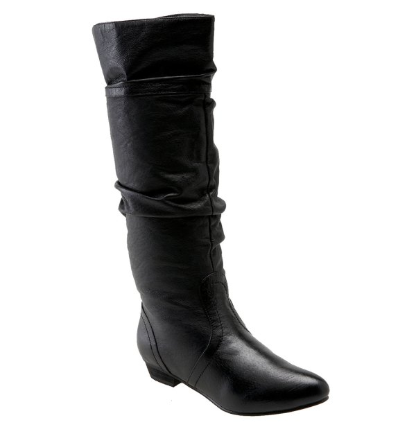 Steve Madden Candence Boot In Black Leather Lyst