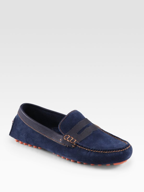 Cole Haan Air Grant Penny Loafers In Blue Men Blazer Lyst