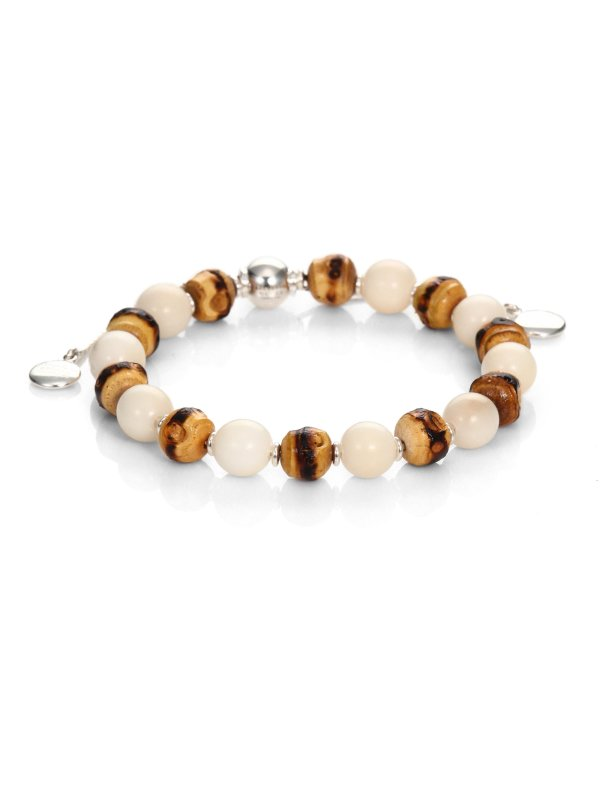 Lyst Gucci Love Bamboo Tagua Sterling Silver Beaded
