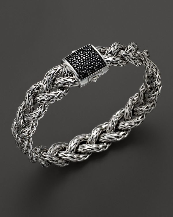 Lyst - John Hardy Classic Chain Silver Small Braided