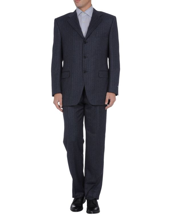 Canali Suits In Gray Men Steel Grey Lyst