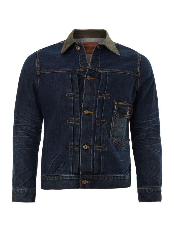Lyst - Barbour Steve Mcqueen Salvage Denim Jacket In Blue