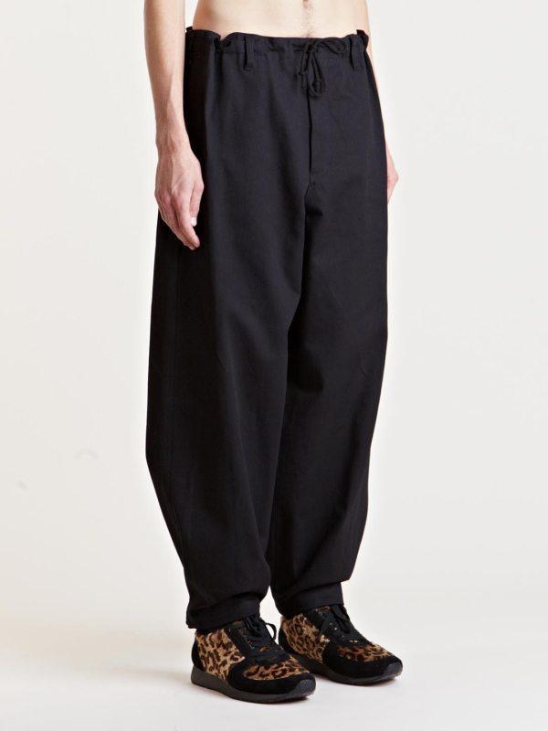 Lyst - Yohji Yamamoto Mens Wide Leg Pants In Black Men