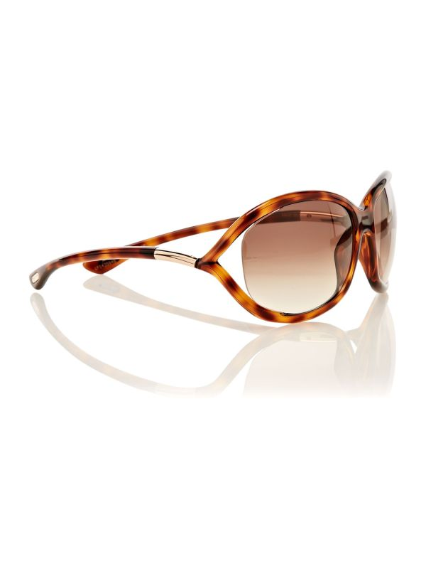 Tom Ford Ladies Ft0008 Jennifer Sunglasses In Brown Lyst