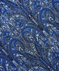 Lyst - Liberty Blue Paisley Print Silk Tie in Blue for Men