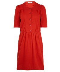Lyst - Sessun Red Gilea Mid Length Dress in Red