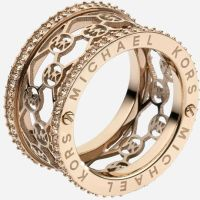 Rose Gold Ring: Rose Gold Ring Michael Kors