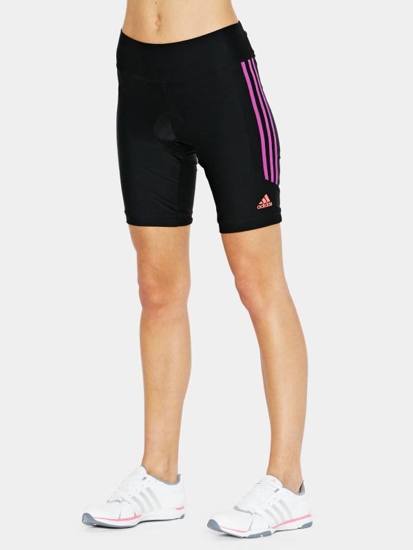 Adidas Response Padded Cycling Shorts In Black